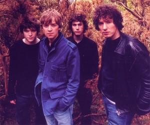 The Stands: (left to right) Steve Pilgrim, Luke Thomson, Dean Ravera, Howie Payne)